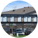 Outside of Grande prairie dental clinic