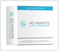 SPA DENT 40 minute teeth whitening