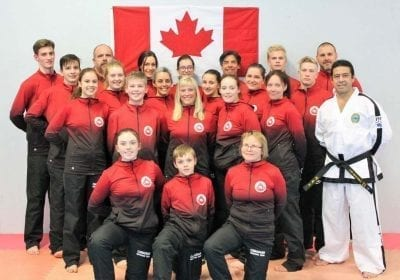 Taekwon-do Championships Team Canada - Sponsored by Grande Prairie Dental Clinic